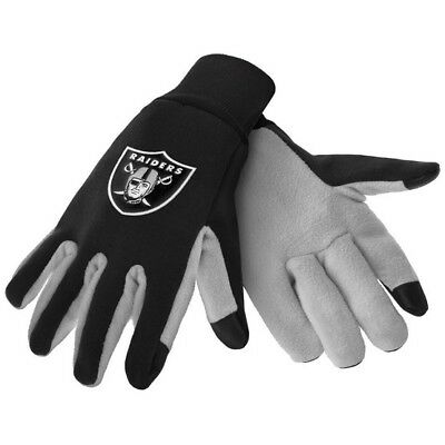 Oakland Raiders Nfl Texting Technology Gloves Free Shipping