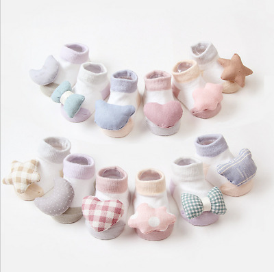 Baby Socks cute Anti-slip Socks Boy Girl Cartoon Cotton NewBorn Infant Toddler