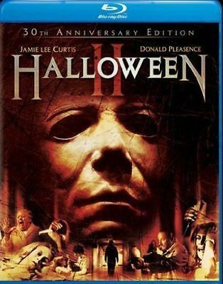 Blu Ray HALLOWEEN II  2 30th anniversary edition 1981. Region free. New sealed