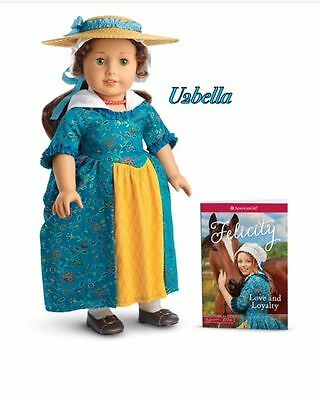 American Girl Felicity Doll & Paper book & Accessories Beforever NEW