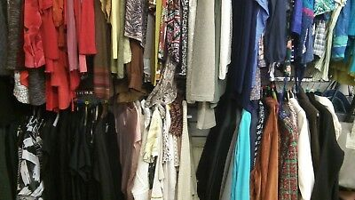 15 items joblot wholesale bundle of women's clothing in used condition size 16