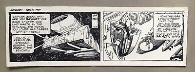 Star Hawks Daily 3-15-80, Original art by Gil Kane & Archie Goodwin