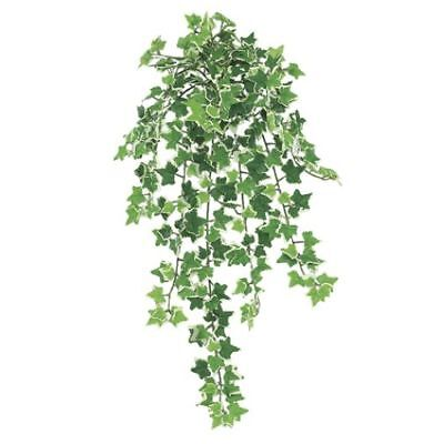 "22"" Mini Ivy Silk Hanging Plant -321 Leaves -Variegated (pack of 12)"