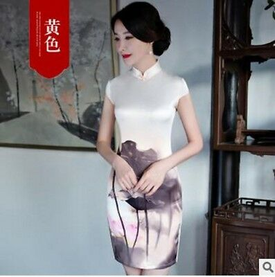 2017 new Chinese daily short paragraph improved self-cultivation cheongsam