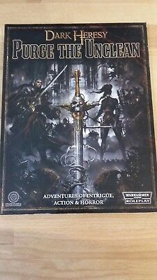 RPG Dark Heresy Purge the Unclean Softback book in mint condition
