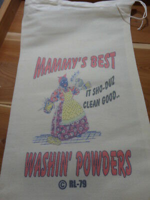 Bagtiques 79 MAMMYS BEST Flour Bag Sack Feed Seed  feedsack Novelty Collectible