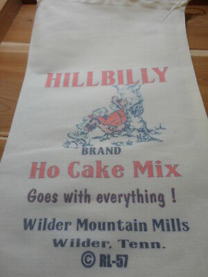 RL-57 HILLBILLY HO CAKEFlour Bag Sack Feed Seed  Novelty Collectible