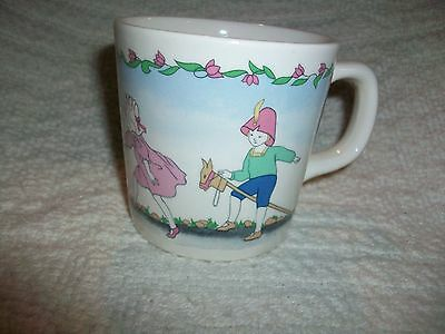 Laura Ashley Pottery Playtime Child Mug England Children Playing