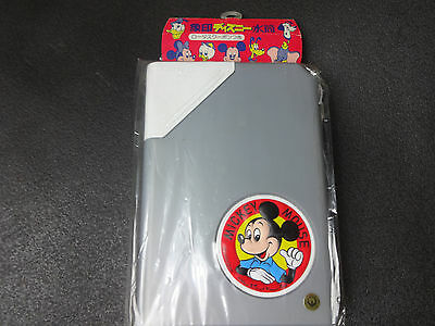 1970s Rare ZOJIRUSHI Disney MICKEY MOUSE Water Bottle Vintage Made in JAPAN