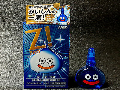 ROHTO Z Pro Eye Drops Slime Ver,Dragon Quest 30th Anniversary Limited Japan