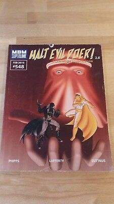 RPG Halt the Evil Doer Softback in good condition