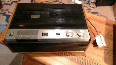 Marconiphone 4256 Cassette Recorder- early rare machine
