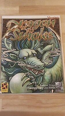 RPG Victoriana Dragon in the smoke in mint condition