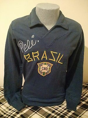 Original Rare Brazil Vintage Coat 60s Manufactured by Athleta signed By Pelé