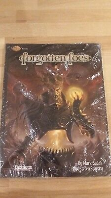 RPG Pathfinder Forgotten Foes in mint condition