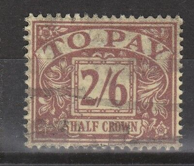 Great Britain postage due nr 17 used 1924 (Michel) MUCH MORE DUE STAMPS