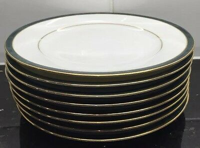 Boots Hanover Green 8 Side Cake Plates