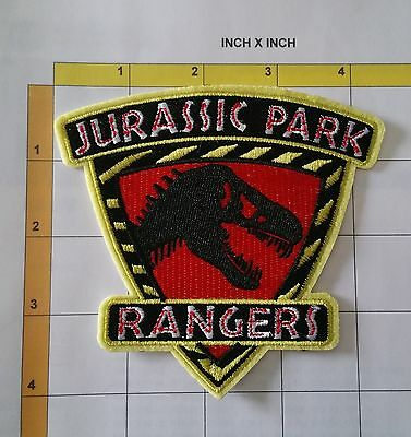 Jurassic Park Rangers Security Dept Dinosaurs Protection Officer TV Movie Patch