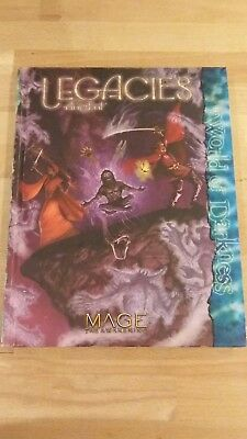 RPG World of Darkness Mage the Awakening Legacies the Ancient HB mint condition