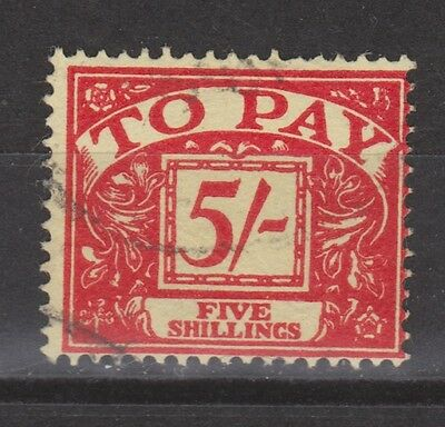 Great Britain postage due nr 64 used 1959 (Michel) MUCH MORE DUE STAMPS