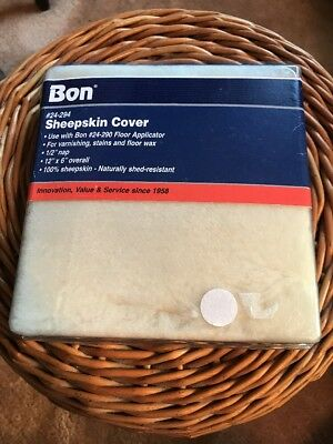 Bon 24-294 Sheepskin Applicator Refill Cover, New, Free Ship