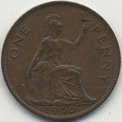 1950 George VI One Penny***Collectors***High Grade***Key date***