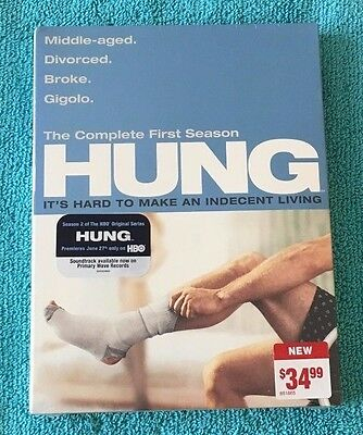 Hung: The Complete First Season (DVD, 2010, 2-Disc Set) Brand New Sealed, Reg 1