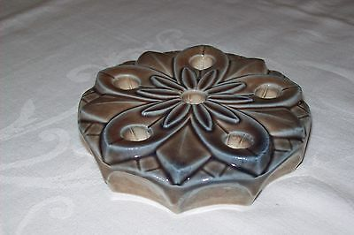 Wade Water Lily Candle Holder, Excellent Condition, No Chips Or Cracks