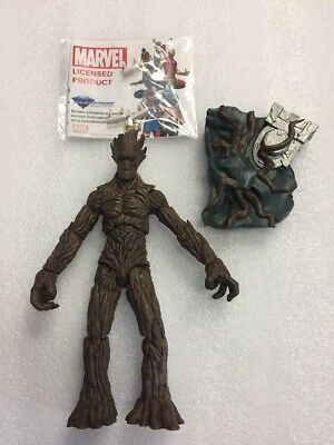 Marvel Select Guardians of the Galaxy GROOT  Figure from Disney Store - Loose