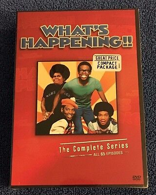 Whats Happening - The Complete Series (DVD, 2008, 9-Disc Set) Brand New Sealed