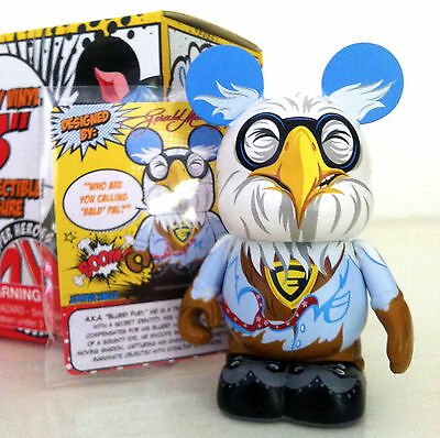 """Disney Vinylmation 3"""" Zooper Heroes Series Eagle 2012 Collectible Toy Figure New"""