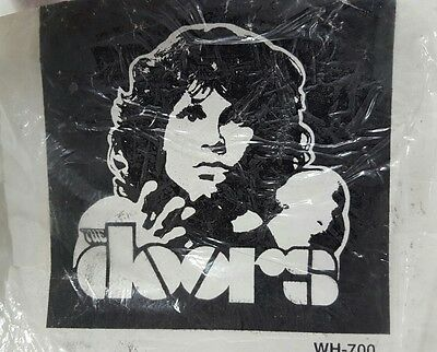 The Doors Jim Morrison 40x45  Fabric wall hanging tapestry NOS