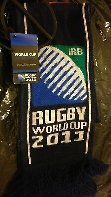 Rugby World Cup 2011 Official England Scarf (Free P&P) (Perfect Xmas Gift)