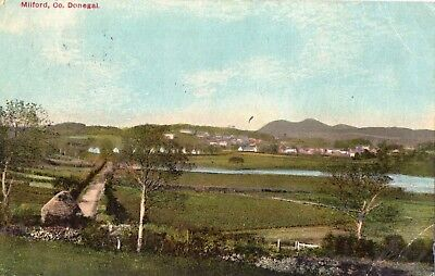 MILFORD CO DONEGAL IRELAND POSTCARD PUBLISHED by ROBERT McCAUSLAND POSTED 1916 ?