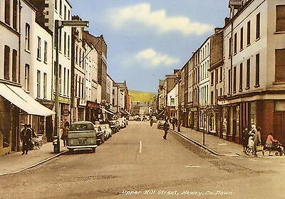 Upper Hill Street Newry Co. Down Ireland M & L National Series Irish Postcard