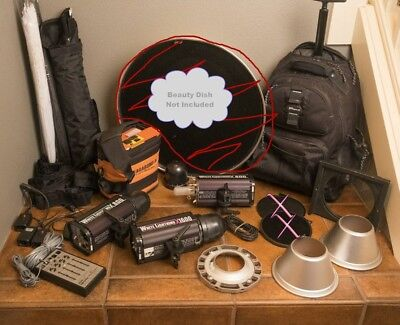 Paul Buff White Lightning™ Flash System with Extras (x1600/x800)