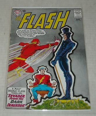 KEY 1965 Silver Age DC Comics The FLASH #151 IRIS & BARRY ENGAGED BELOW GUIDE