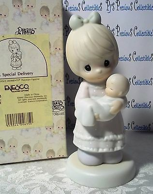 "Precious Moments ""A Special Delivery"" Newborn Baby 521493"