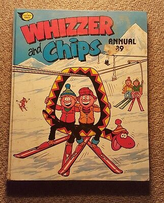 Whizzer and Chips Annual 1989