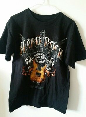 Hard Rock Cafe Las Vegas T-Shirt(Men's Fit Medium)