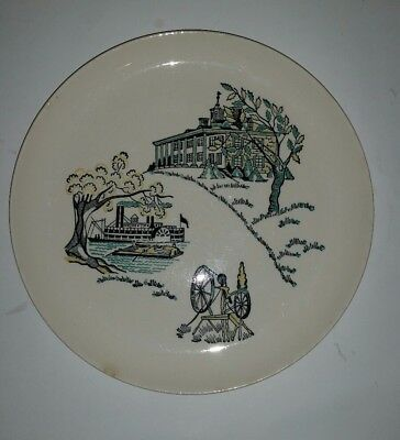 Ovenproof Dinnerware Hand Decorated Underglazed White Plate