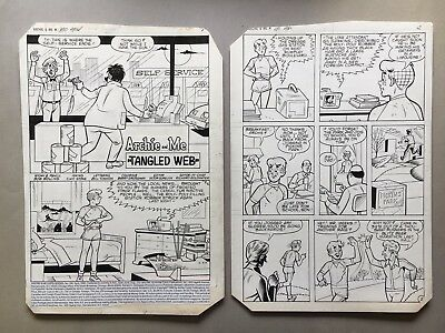 Archie and Me #150 Apr 1985 pg 1-31, 21 pg story, original art by Bolling/Stone