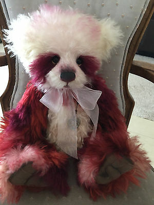 Charlie Bears Ode 2015 Isabelle Mohair Collection FREE US SHIP