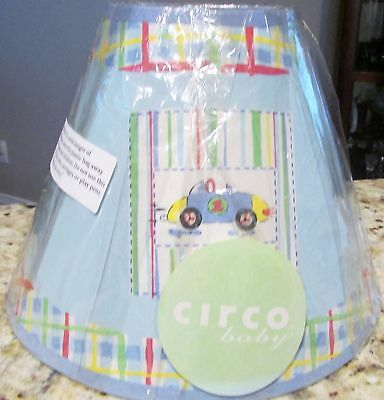 Circo Baby Boy's Room Lamp Shade - Cars and Planes