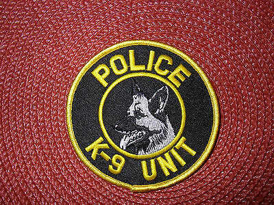 Police K-9 Unit Patch
