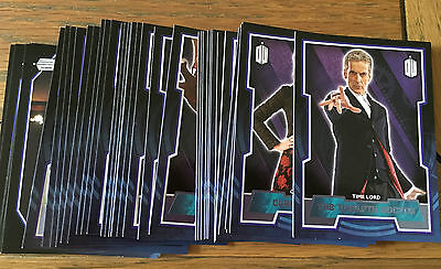 Doctor Who 2015 by Topps Lot of 39 Purple Parallel Cards Numbered xx/99