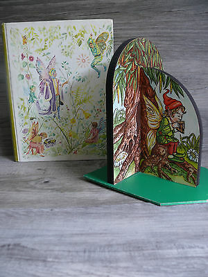 Vtg. Fairy Bookend & 1975 Best Childrens Classics Volume 8 Book Fairy Tales Kids