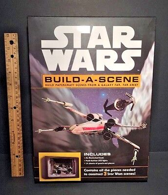 STAR WARS Build a Scene Papercraft Scenes from a Galaxy Far, Far Away NEW