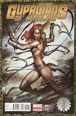 Guardians Of The Galaxy #5 Adi Granov Limited Edition Comix Variant Angela Hot!