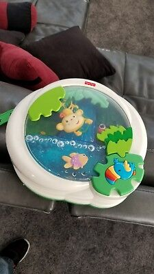 Fisher Price Rainforest Peek a Boo Waterfall Soother Musical Baby Crib Toy